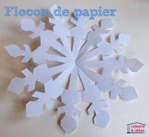 flocon-papier